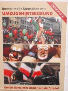 """Postkarte """"Umzugshintergrund"""""""