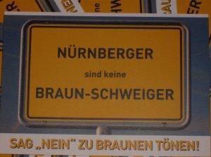 """Postkarte """"Braun-Schweiger"""""""