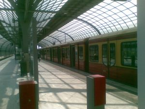 S-Bahn in Spandau